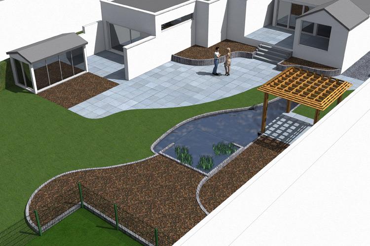 Espace jardin cr ation architecte paysagiste et for Architectes paysagistes